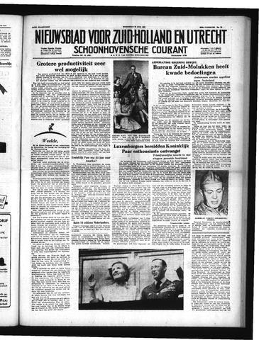 Schoonhovensche Courant 1951-06-20