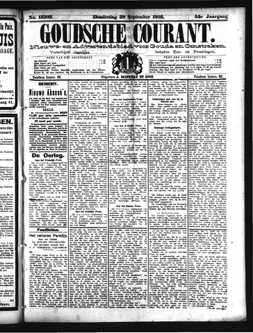 Goudsche Courant 1916-09-28