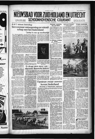 Schoonhovensche Courant 1957-07-08