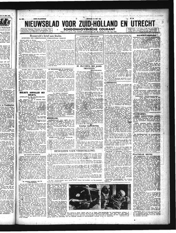 Schoonhovensche Courant 1943-05-25