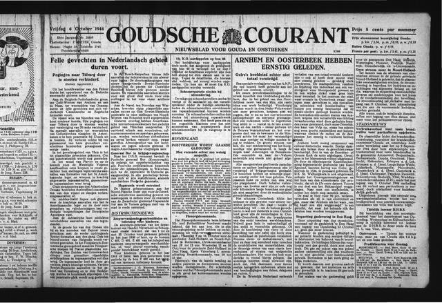 Goudsche Courant 1944-10-06