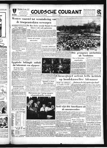 Goudsche Courant 1957-08-14