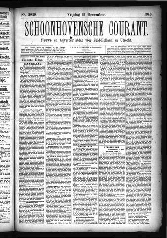Schoonhovensche Courant 1916-12-15