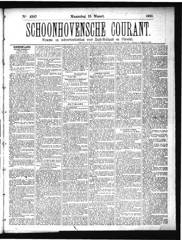 Schoonhovensche Courant 1920-03-15