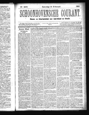 Schoonhovensche Courant 1904-02-13