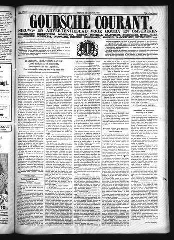 Goudsche Courant 1937-10-22