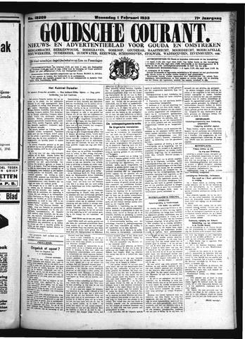 Goudsche Courant 1933-02-01