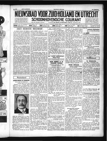 Schoonhovensche Courant 1937-06-21