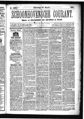Schoonhovensche Courant 1908-03-28