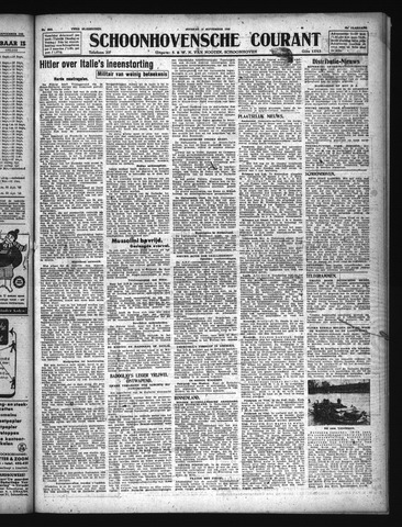 Schoonhovensche Courant 1943-09-14