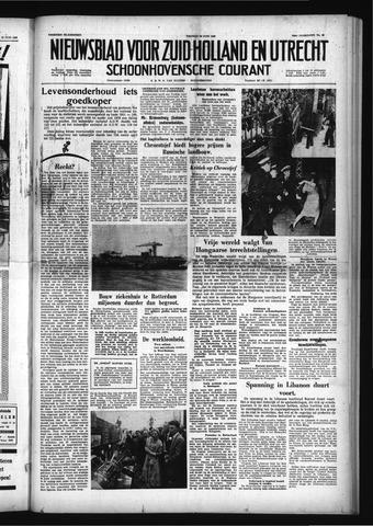 Schoonhovensche Courant 1958-06-20
