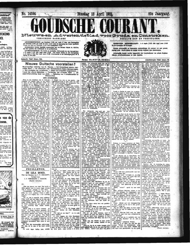 Goudsche Courant 1921-04-12
