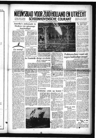 Schoonhovensche Courant 1954-03-26