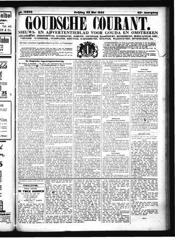 Goudsche Courant 1925-05-22