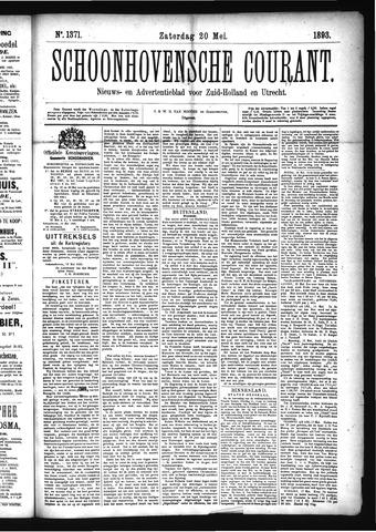 Schoonhovensche Courant 1893-05-20