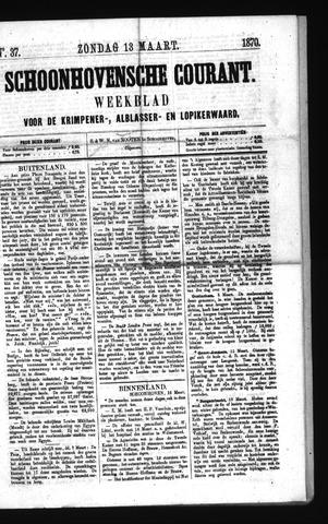Schoonhovensche Courant 1870-03-13