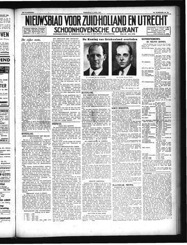 Schoonhovensche Courant 1947-04-02