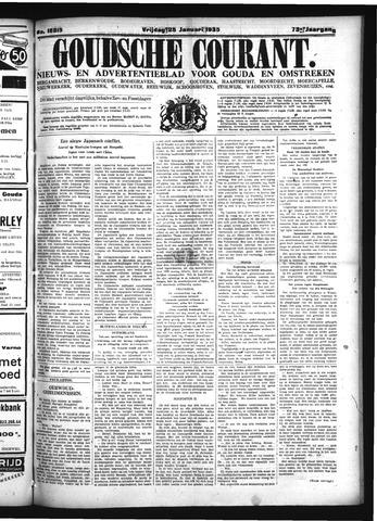 Goudsche Courant 1935-01-25