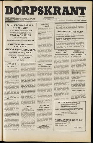 Dorpskrant 1980-04-11