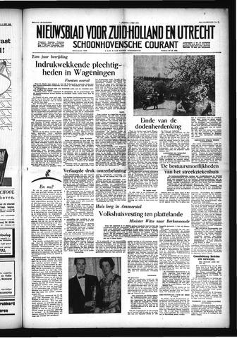 Schoonhovensche Courant 1955-05-06