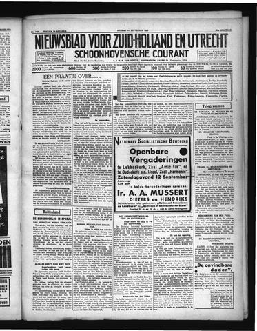 Schoonhovensche Courant 1936-09-11