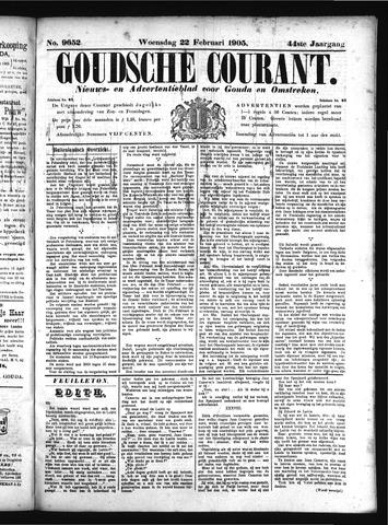 Goudsche Courant 1905-02-22