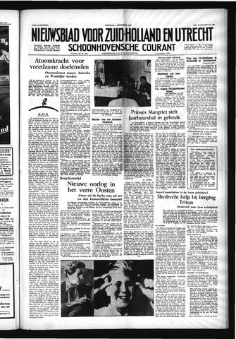 Schoonhovensche Courant 1954-09-08