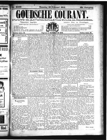 Goudsche Courant 1914-02-23