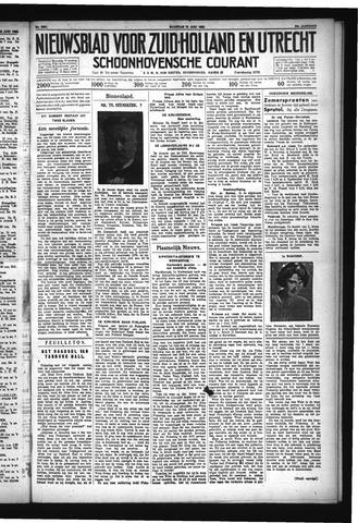 Schoonhovensche Courant 1932-06-13