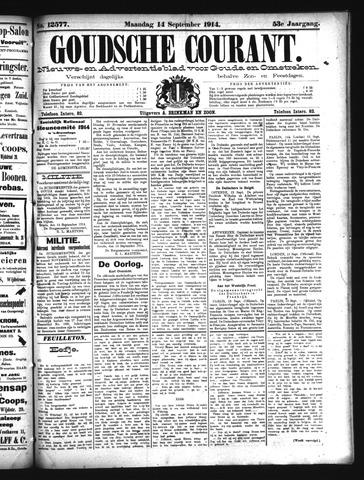 Goudsche Courant 1914-09-14