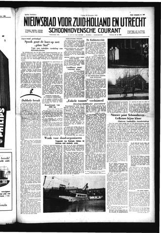 Schoonhovensche Courant 1958-12-19
