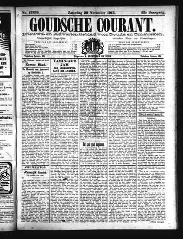 Goudsche Courant 1913-11-29