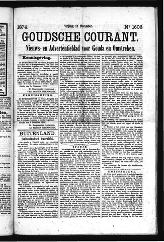 Goudsche Courant 1874-12-11