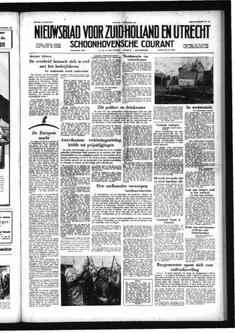 Schoonhovensche Courant 1958-11-07