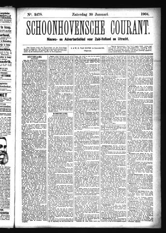 Schoonhovensche Courant 1904-01-30