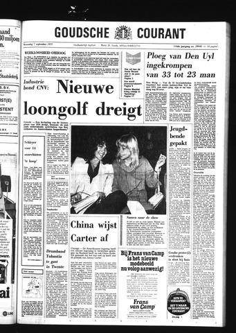 Goudsche Courant 1977-09-07