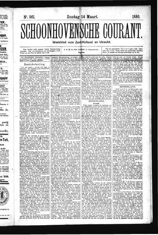 Schoonhovensche Courant 1880-03-14