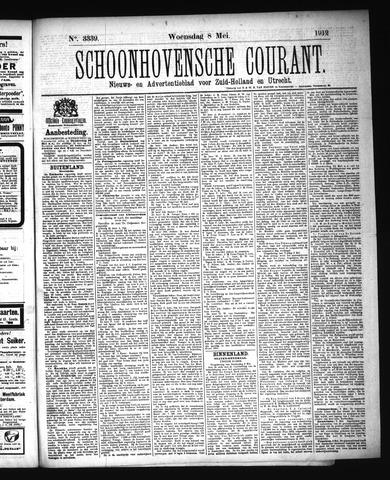 Schoonhovensche Courant 1912-05-08
