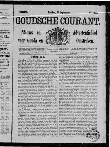 Goudsche Courant 1862-09-14