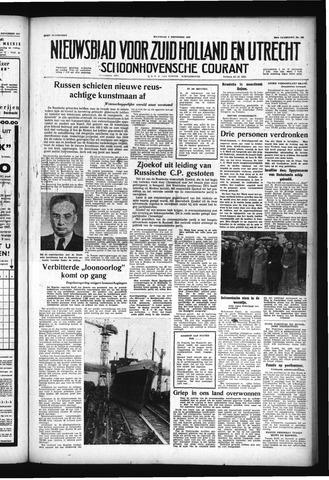 Schoonhovensche Courant 1957-11-04