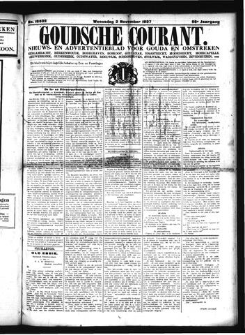 Goudsche Courant 1927-11-02