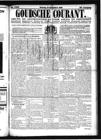 Goudsche Courant 1929-11-19
