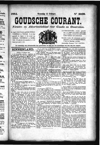 Goudsche Courant 1884-02-13