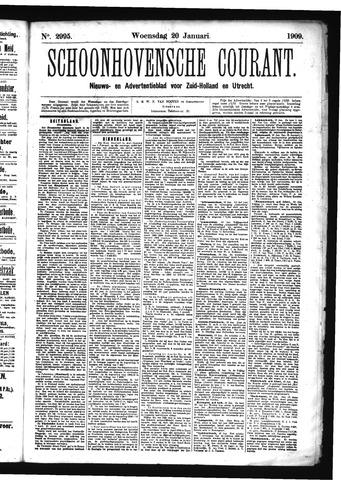 Schoonhovensche Courant 1909-01-20