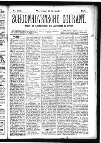 Schoonhovensche Courant 1902-11-26