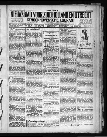 Schoonhovensche Courant 1938-01-05