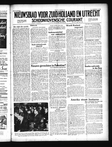 Schoonhovensche Courant 1949-03-11