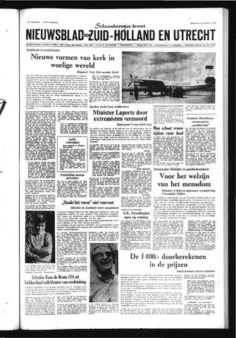 Schoonhovensche Courant 1970-10-19