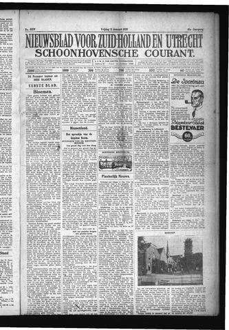 Schoonhovensche Courant 1929-01-11