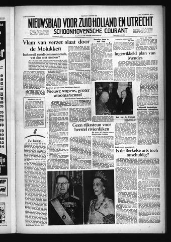 Schoonhovensche Courant 1955-01-07